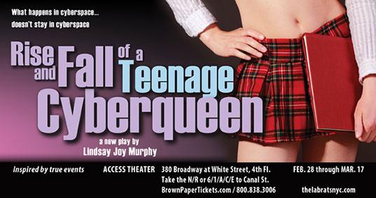Teenagecyberqueenpostcard